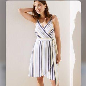NWT LOFT Striped Dress